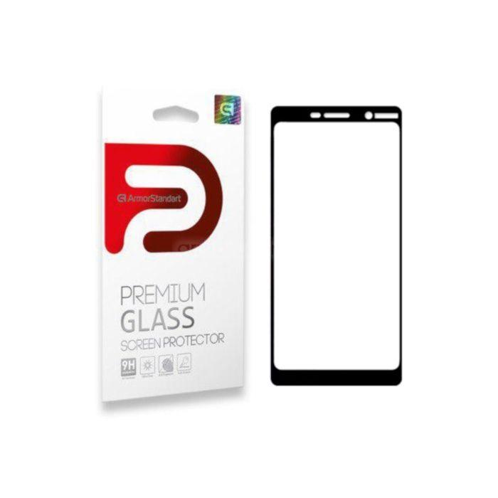 Защитное стекло ArmorStandart Full-Screen Fullglue для Nokia 7 Plus Black