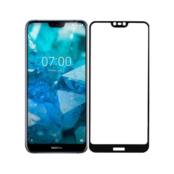 Защитное стекло ArmorStandart Full-Screen Fullglue для Nokia 7.1 Black купить