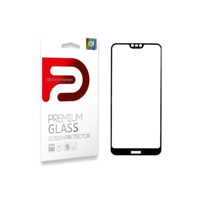 Защитное стекло ArmorStandart Full-Screen Fullglue для Nokia 7.1 Black