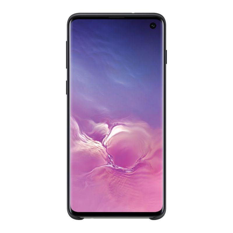 Чехол Samsung Silicone Cover для Galaxy S10 (EF-PG973TBEGRU) Black недорого