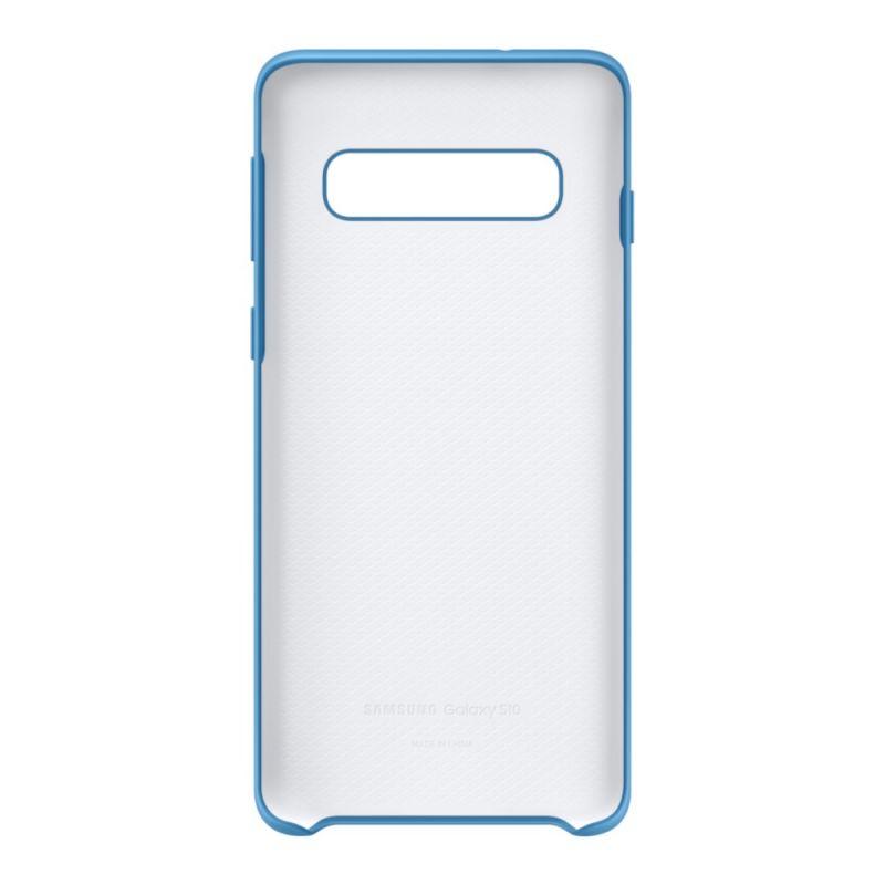 Чехол Samsung Silicone Cover для Galaxy S10 (EF-PG973TLEGRU) Blue в Украине