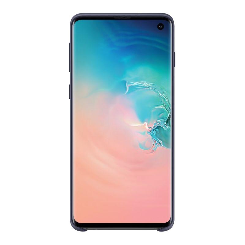 Чехол Samsung Silicone Cover для Galaxy S10 (EF-PG973TNEGRU) Navy недорого
