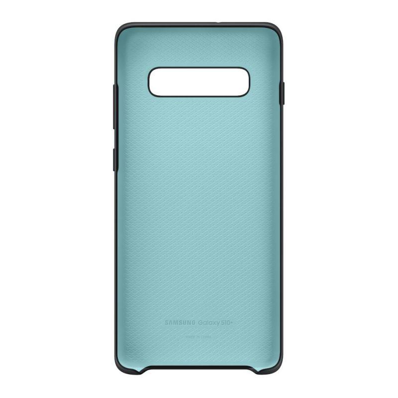 Чехол Samsung Silicone Cover для Galaxy S10 Plus (EF-PG975TBEGRU) Black в Украине