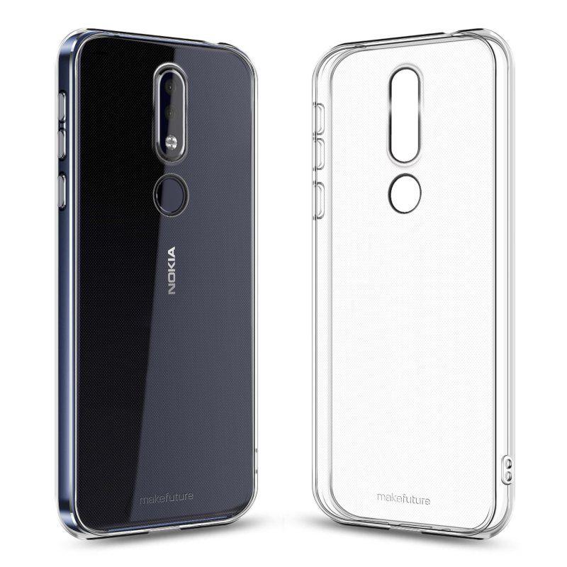 Чехол MakeFuture Air для Nokia 7.1 Clear