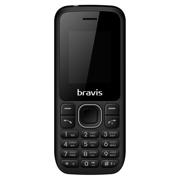 Мобильный телефон Bravis C183 Rife Dual Sim Black