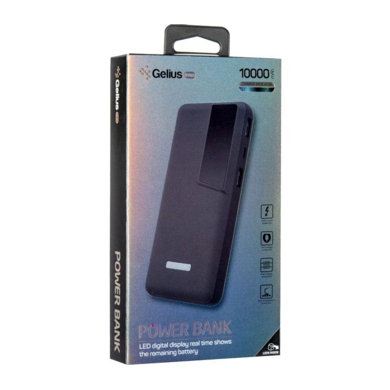 Портативный аккумулятор 10000mAh Gelius Pro Soft (GP-PB10-G1) Dark Blue цена