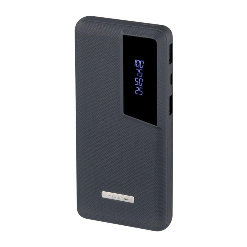 Портативный аккумулятор 10000mAh Gelius Pro Soft (GP-PB10-G1) Dark Blue