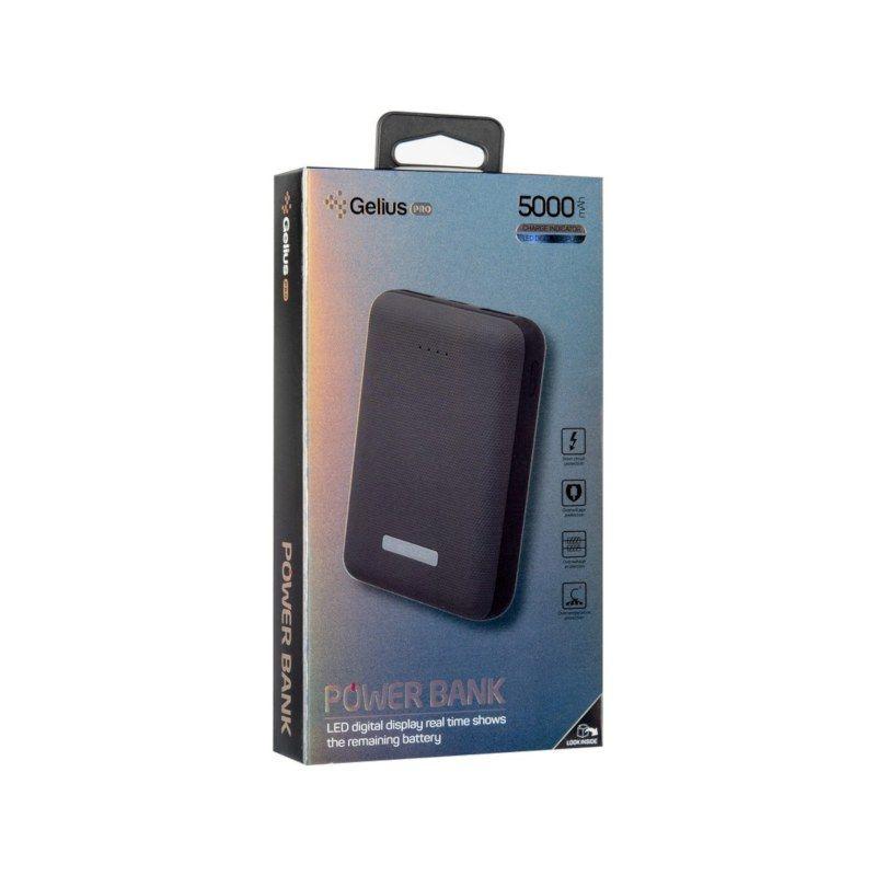 Портативний акумулятор 5000mAh Gelius Pro Soft (GP-PB5-G2) Dark Blue Vodafone