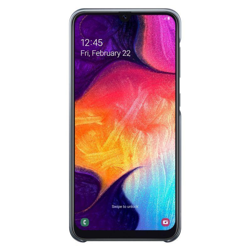Чехол Samsung Gradation Cover для Galaxy A50 (EF-AA505CBEGRU) Black недорого