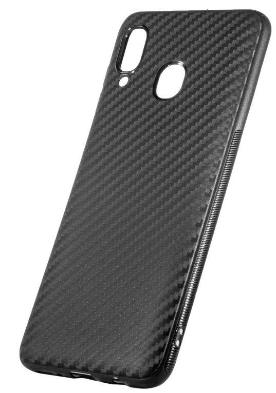 Чехол ColorWay TPU Carbon для Samsung Galaxy A30 (Black) купить