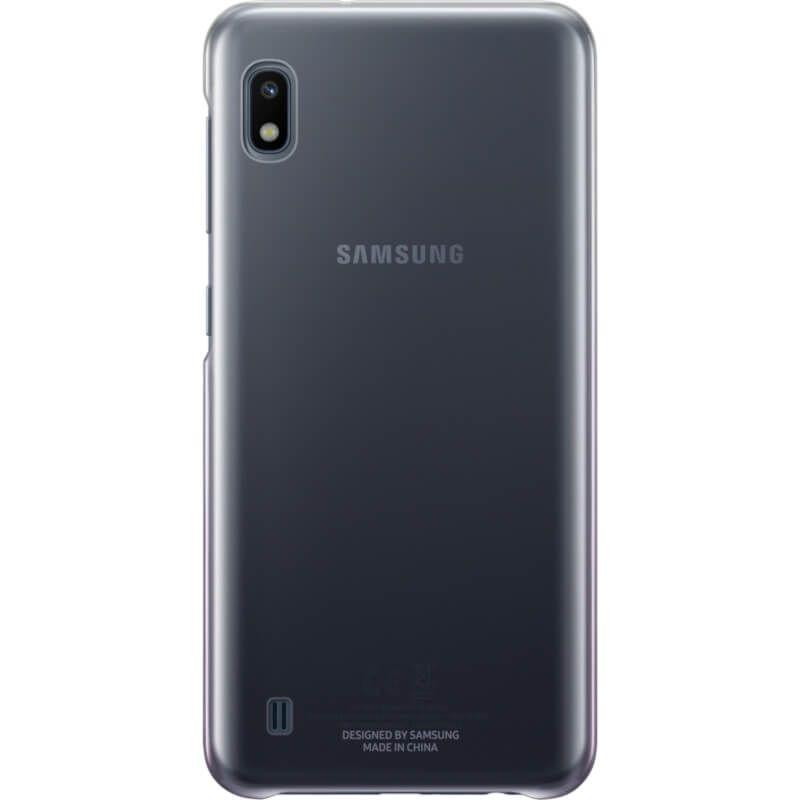 Чехол Samsung Gradation Cover для Galaxy A10 (EF-AA105CBEGRU) Black купить