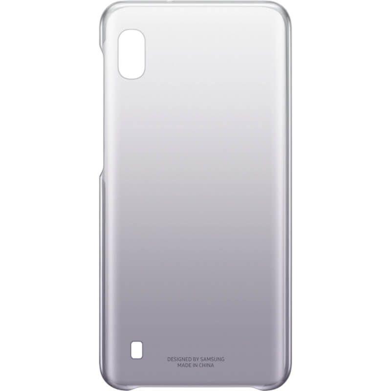 Чехол Samsung Gradation Cover для Galaxy A10 (EF-AA105CBEGRU) Black