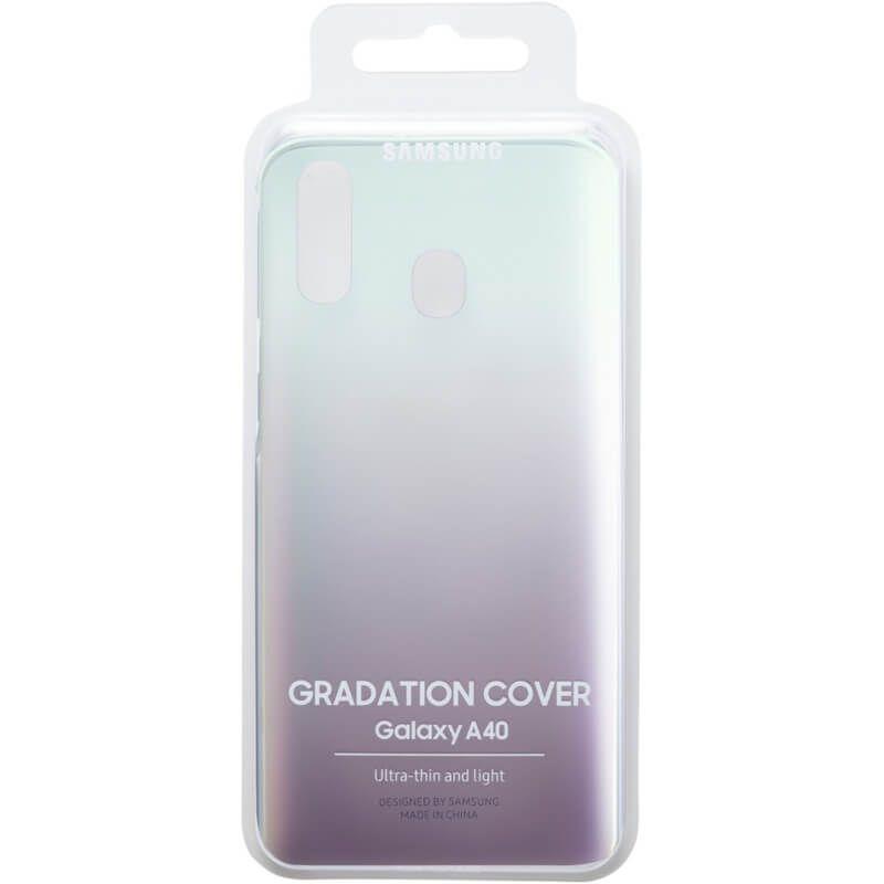 Чехол Samsung Gradation Cover для Galaxy A40 (EF-AA405CBEGRU) Black в интернет-магазине