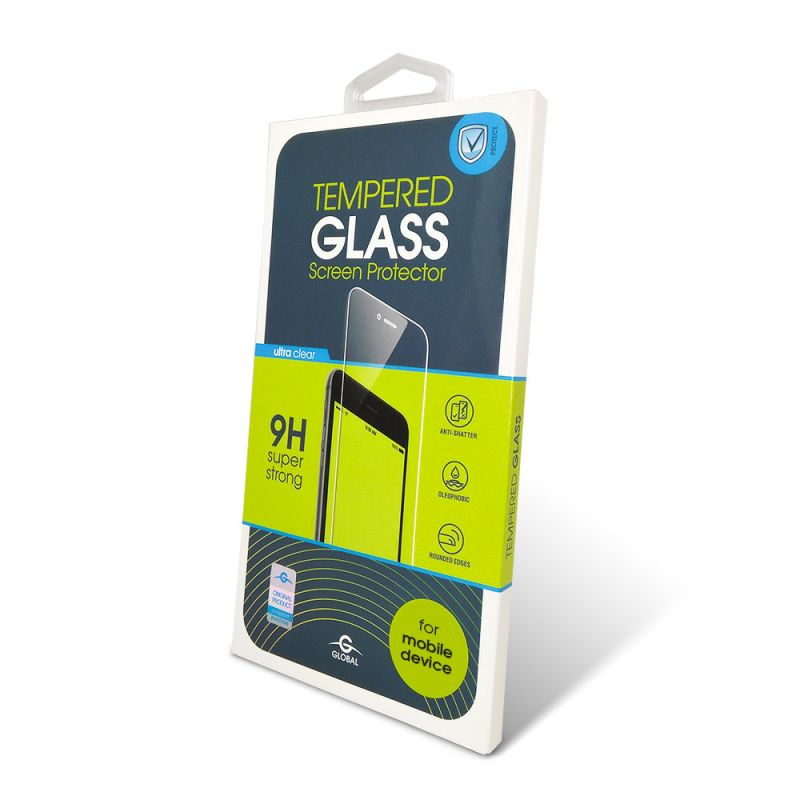 Защитное стекло Global Full Glue для Samsung Galaxy A30/A50 (Black)