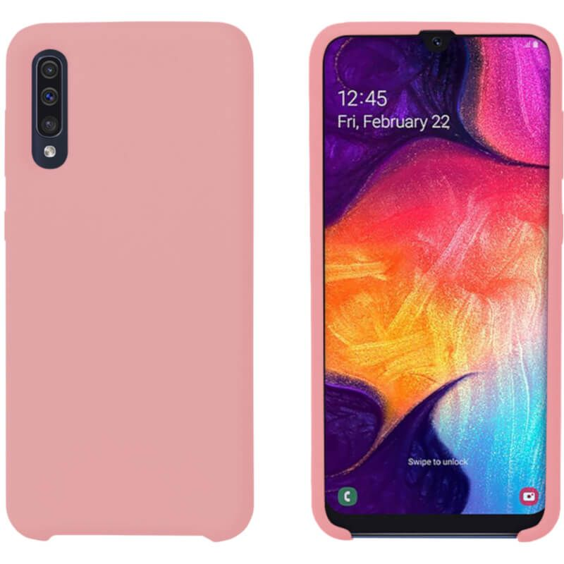 Чехол Intaleo Velvet для Samsung Galaxy A50 (Pink)