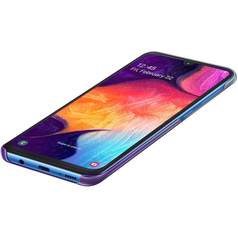 Чехол Samsung Gradation Cover для Galaxy A50 (EF-AA505CVEGRU) Purple в интернет-магазине