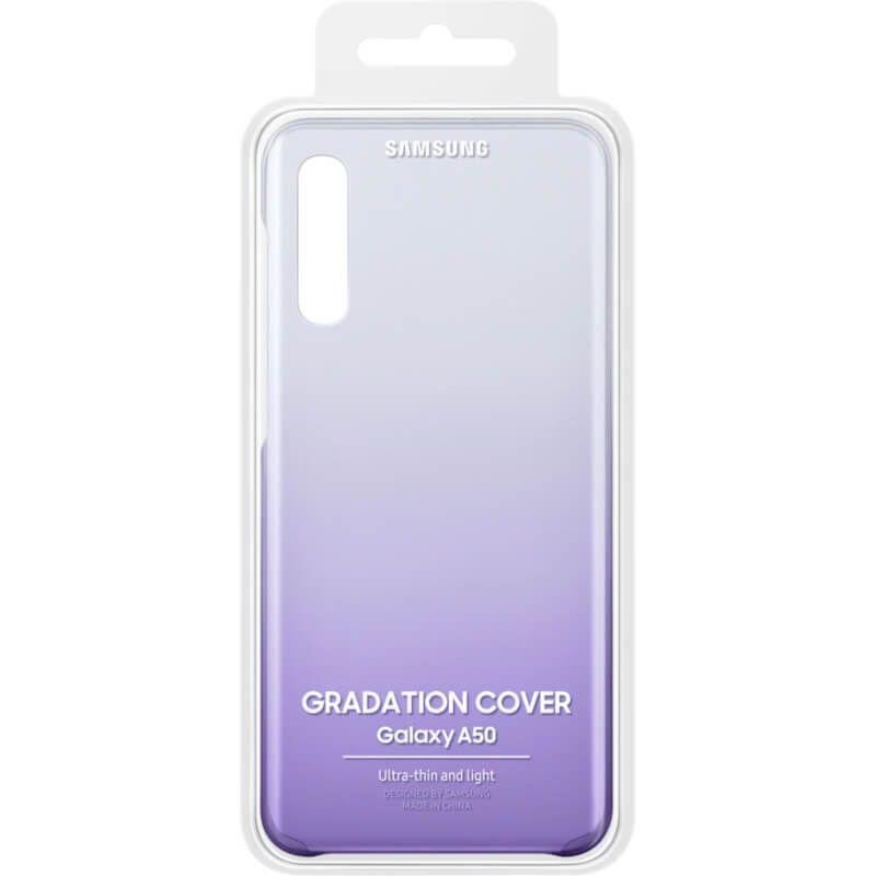 Чехол Samsung Gradation Cover для Galaxy A50 (EF-AA505CVEGRU) Purple