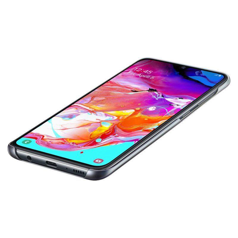 Чехол Samsung Gradation Cover для Galaxy A70 Black недорого