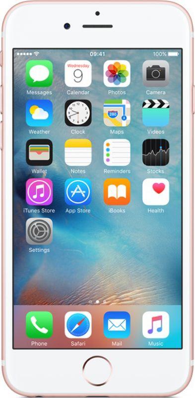 Смартфон Apple iPhone 6s 32GB (MN122) Rose Gold