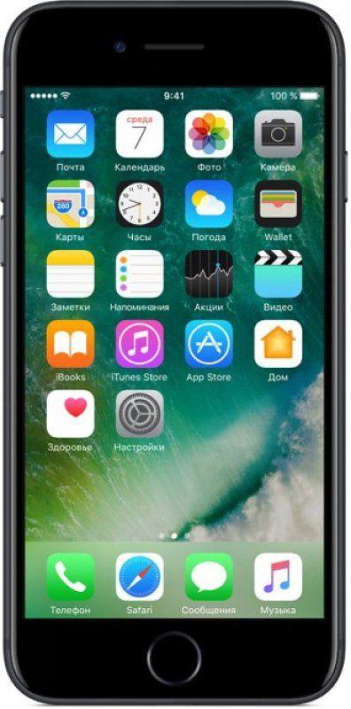 Смартфон Apple iPhone 7 128GB (MN922) Black в Украине