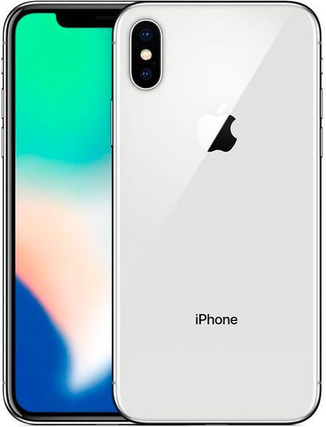 Смартфон Apple iPhone X 256GB (MQAG2) Silver купить