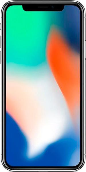Смартфон Apple iPhone X 256GB (MQAG2) Silver недорого