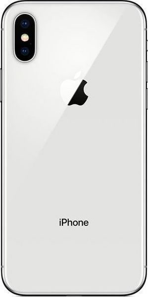 Смартфон Apple iPhone X 256GB (MQAG2) Silver в Украине