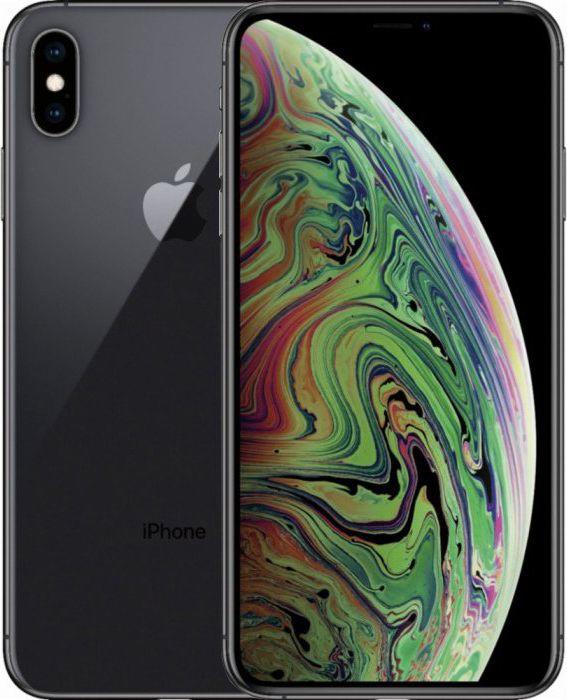 Смартфон Apple iPhone XS Max 64GB (MT502) Space Gray