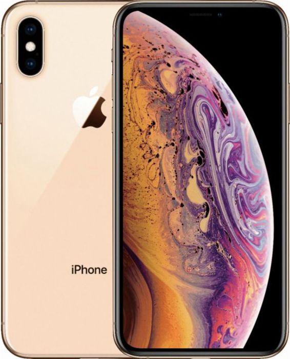 Смартфон Apple iPhone XS Max 64GB (MT522) Gold