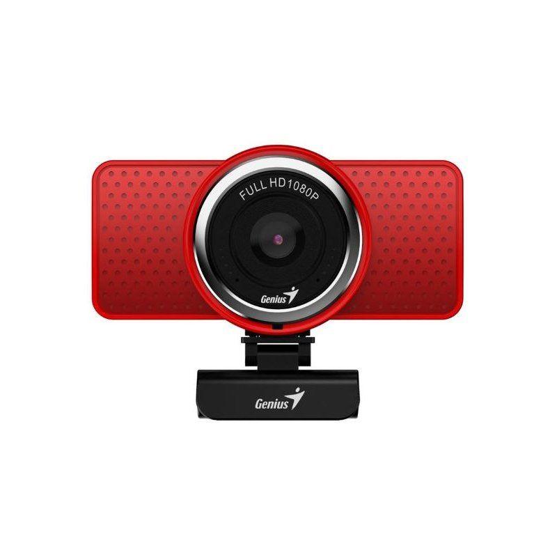 Веб-камера Genius ECam 8000 Full HD (32200001401) Red