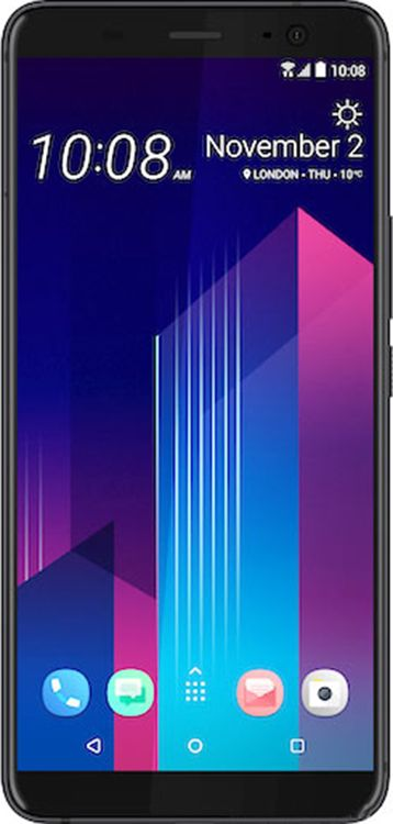 Смартфон HTC U11 Plus 4/64GB Ceramic Black купить