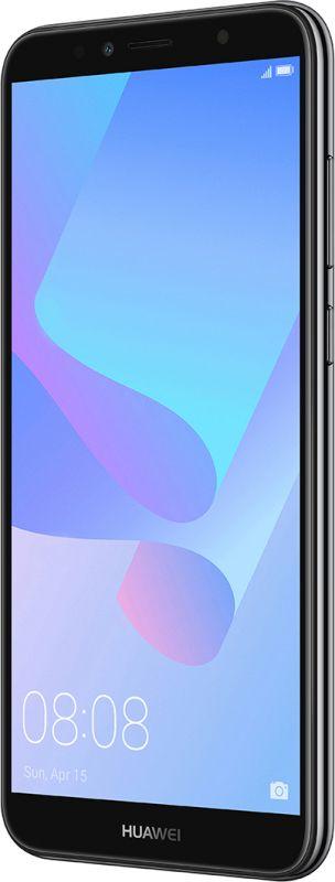 Смартфон Huawei Y6 2018 Black в Украине