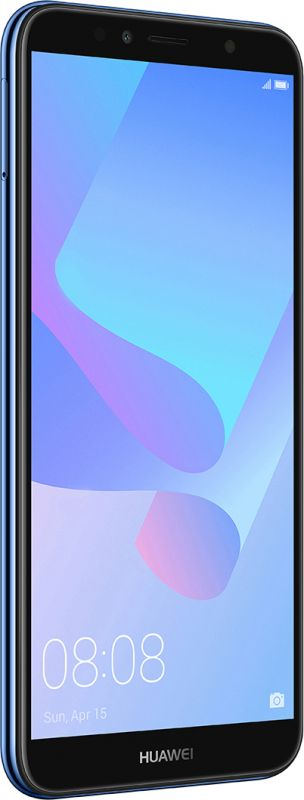 Смартфон Huawei Y6 2018 Blue фото