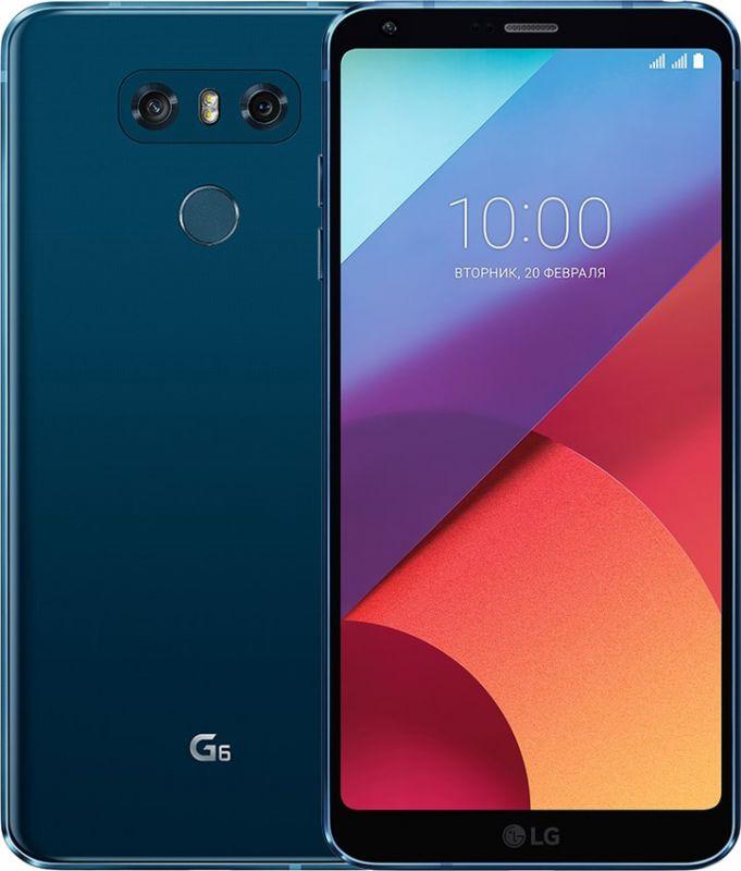 Смартфон LG G6 4/64GB Moroccan Blue