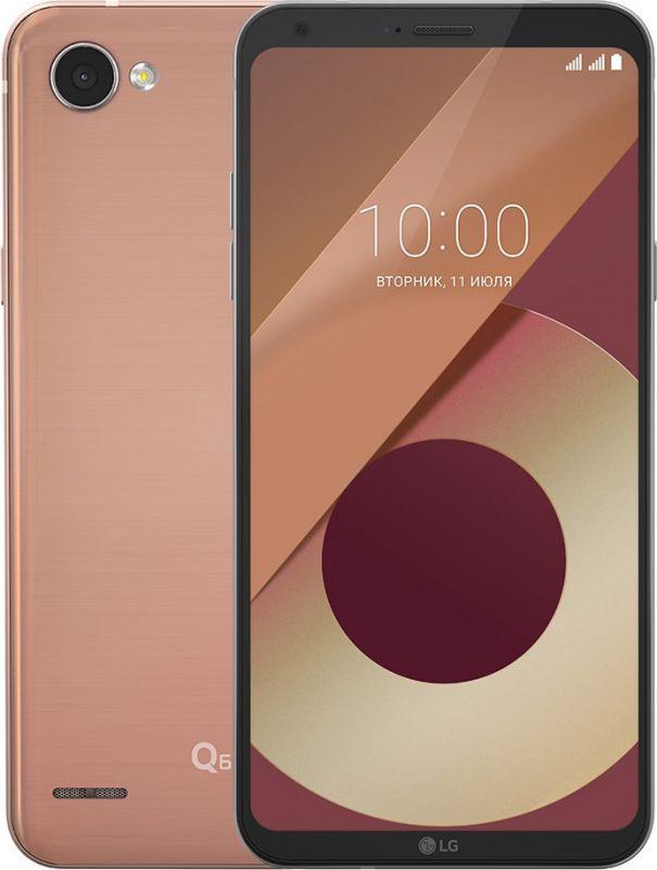 Смартфон LG Q6 Gold