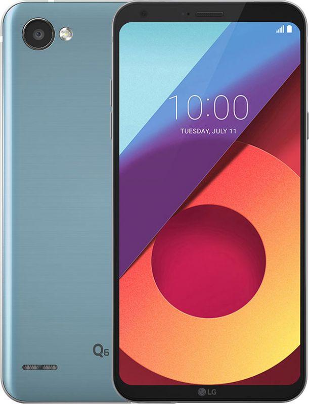 Смартфон LG Q6 Platinum