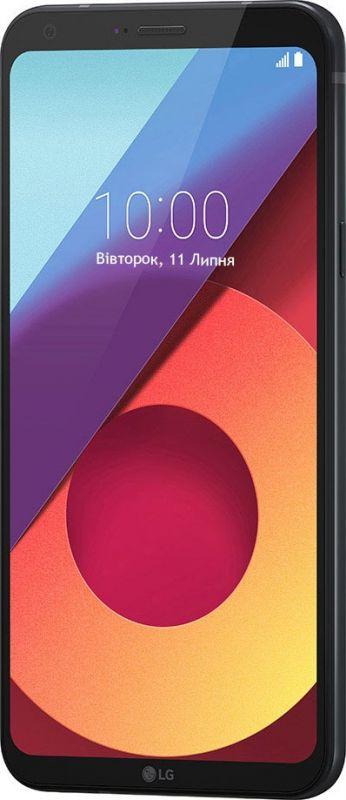 Смартфон LG Q6 Plus 4/64GB Black в Украине