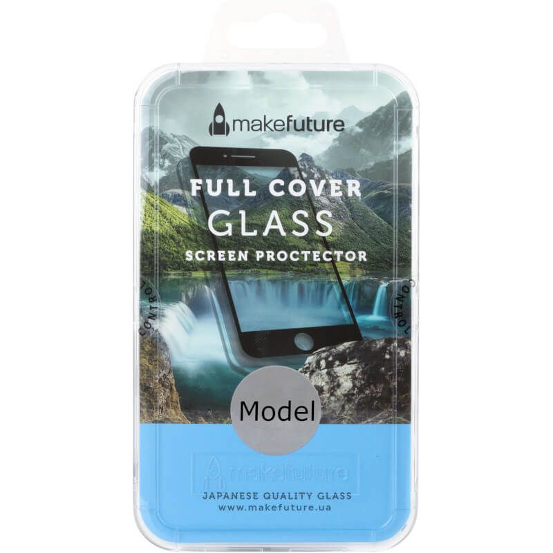 Защитное стекло MakeFuture Full Cover для Xiaomi Redmi Note 5A (Black)