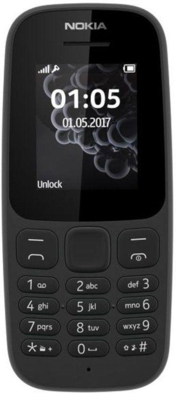 Мобільний телефон Nokia 105 TA-1010 Black