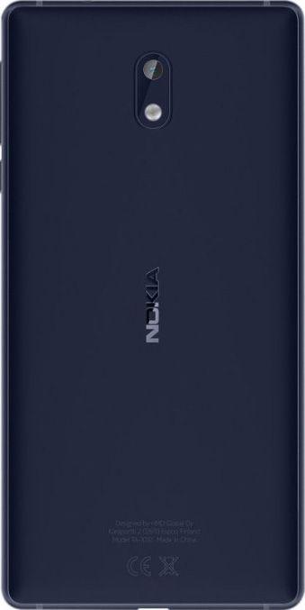 Смартфон Nokia 3 Dual Sim Tempered Blue недорого