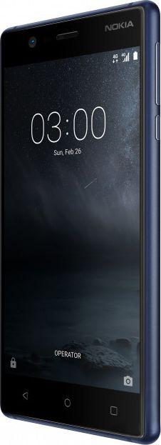 Смартфон Nokia 3 Dual Sim Tempered Blue в Украине