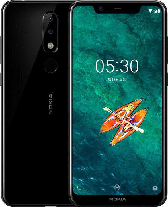 Смартфон Nokia 5.1 Plus 3/32GB Black