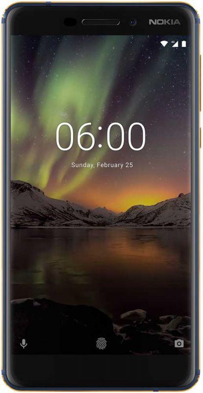 Смартфон Nokia 6.1 4/64GB Blue купить