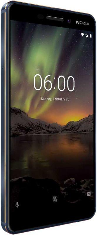 Смартфон Nokia 6.1 4/64GB Blue в интернет-магазине