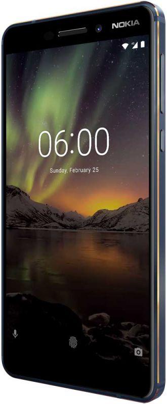 Смартфон Nokia 6.1 4/64GB Blue в Украине