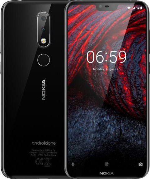 Смартфон Nokia 6.1 Plus 4/64GB Black