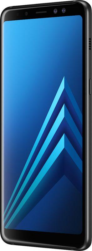 Смартфон Samsung Galaxy A8 2018 4/32GB Black в Украине