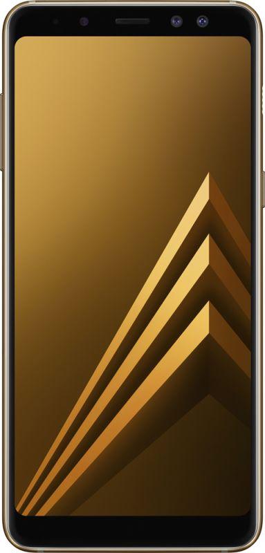 Смартфон Samsung Galaxy A8 2018 4/32GB Gold купить