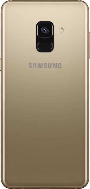 Смартфон Samsung Galaxy A8 2018 4/32GB Gold недорого