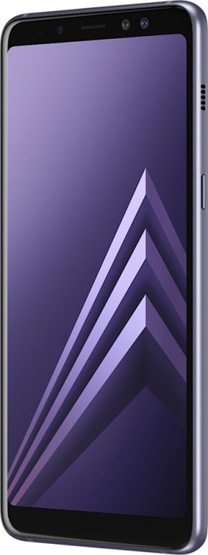 Смартфон Samsung Galaxy A8 2018 4/32GB Orchid Gray в Украине